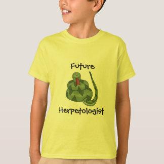 Futurs enfants mignons d'amant de serpent de t-shirt