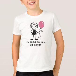 Futurs T-shirts de grande soeur pour des filles