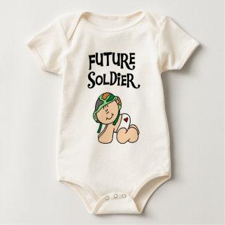 Futurs T-shirts et cadeaux de soldat de bébé