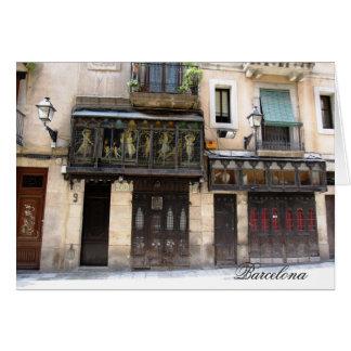 g/nc Barcelone Barri Gotic 1 Barcelone Carte De Vœux