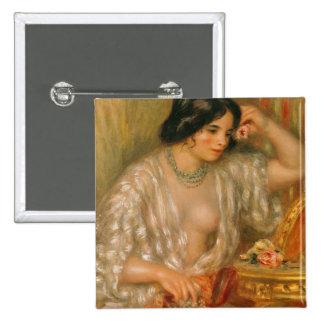 Gabrielle avec Jewellery, 1910 Badge