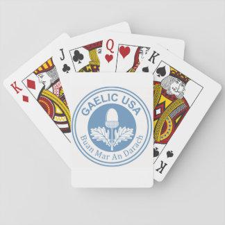 GaelicUSA Playing Cards Cartes À Jouer