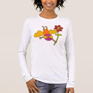 Gaffez l'abeille avec la fleur - T-shirt