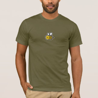 Gaffez le T-shirt des hommes d'abeille