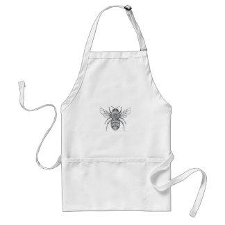 Gaffez le tatouage de mandala d'abeille tablier