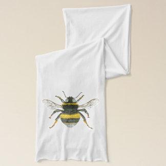 Gaffez l'écharpe d'abeille écharpe