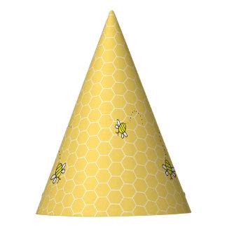 Gaffez les casquettes de partie de nid d'abeilles chapeaux de fètes