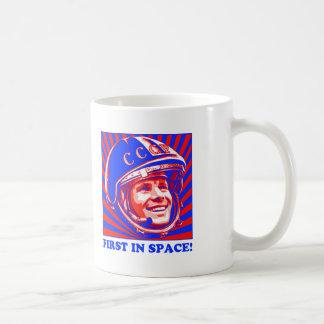Gagarin ЮрийГагарин Mug Blanc