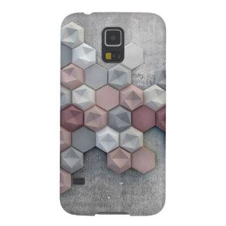 Galaxie architecturale S5 de Samsung d'hexagones Coque Pour Samsung Galaxy S5