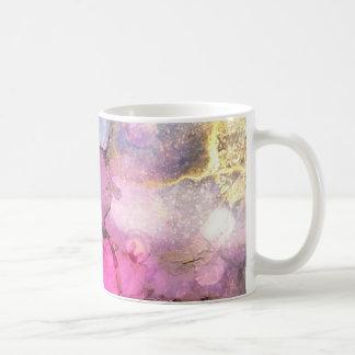 Galaxie - art abstrait d'encre mug