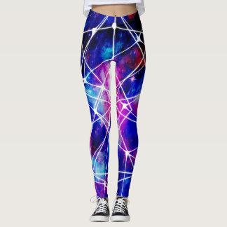 Galaxie bleu-foncé leggings