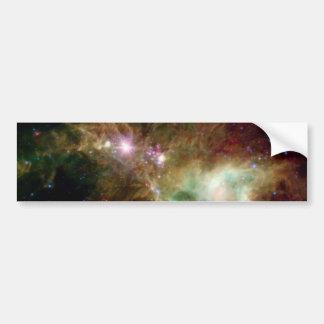 Galaxie d'arbre de Noël Autocollant Pour Voiture