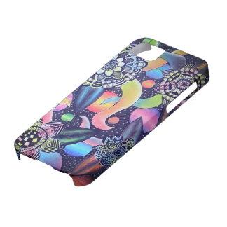 Galaxie de Flores Étui iPhone 5