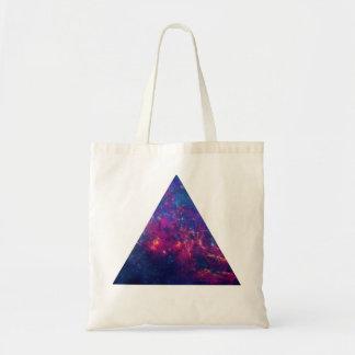 Galaxie de hippie/triangle de l'espace sacs fourre-tout