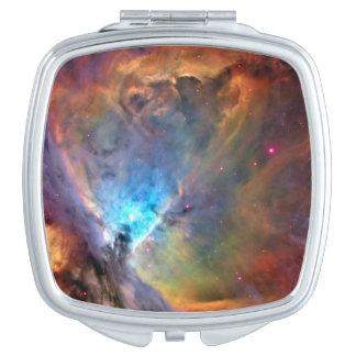 Galaxie de l'espace de nébuleuse d'Orion Miroirs À Maquillage
