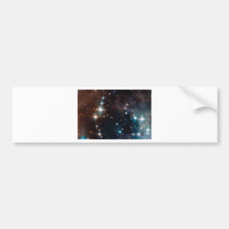 galaxie de manière laiteuse autocollant de voiture
