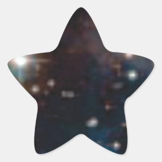 galaxie de manière laiteuse sticker étoile