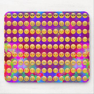 Galaxie Emojis Tapis De Souris