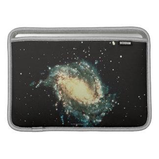 Galaxie en spirale 2 poches pour macbook air