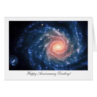 Galaxie en spirale NGC 1232 - chouchou heureux Cartes