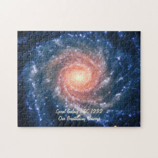 Galaxie en spirale NGC 1232 - notre univers Puzzle