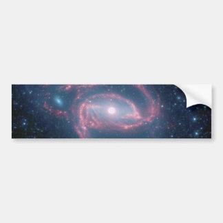 Galaxie enroulée de NGC 1097 de la nuit Autocollant De Voiture