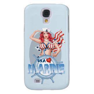 Galaxie MARINE SEXY S4 BT de Samsung    de BANDE Coque Galaxy S4