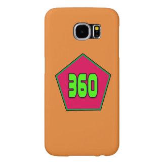 Galaxie S6 de Samsung avec le logo 360