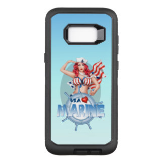 Galaxie SEXY S8 des Etats-Unis Samsung de MARINE+  Coque Samsung Galaxy S8+ Par OtterBox Defender