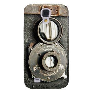 Galaxie vintage S4 de Samsung d'appareil-photo de  Coque Galaxy S4