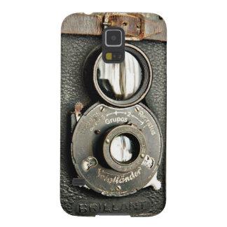 Galaxie vintage S5 de Samsung d'appareil-photo de Coques Pour Galaxy S5