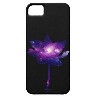 Galaxy Lotus Flower - black Coque iPhone 5 Case-Mate