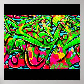 Galerie 13 d'Affiche-Résumé/Divers-Graffiti