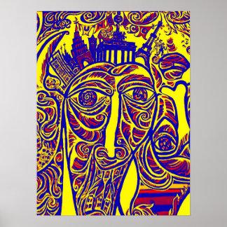 Galerie de côté est, mur de Berlin, Art moderne (w Posters