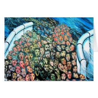 Galerie de côté est, mur de Berlin, Évasion de Cartes