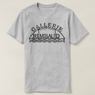 Gallerie noir orphelin Rimbaud T-shirt