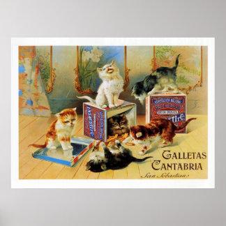 Galletas la Cantabrie Posters