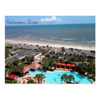 Galveston, le Texas Carte Postale