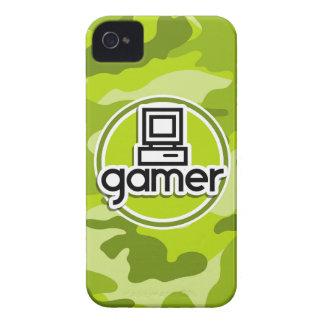 Gamer camo vert clair camouflage coque Case-Mate iPhone 4