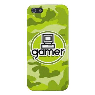 Gamer camo vert clair camouflage iPhone 5 case