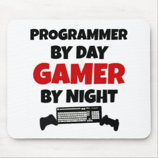 Gamer de programmeur tapis de souris