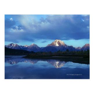 Gamme de montagne grande de Teton 2 Carte Postale