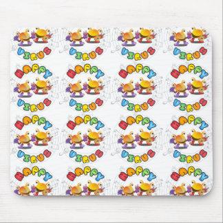 Gamme de produits heureuse de virus tapis de souris
