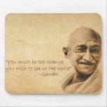Gandhi Mousepad Tapis De Souris