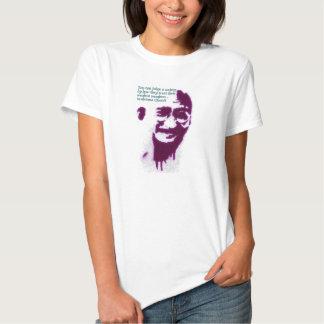 Gandhi vous pouvez juger une société t-shirts