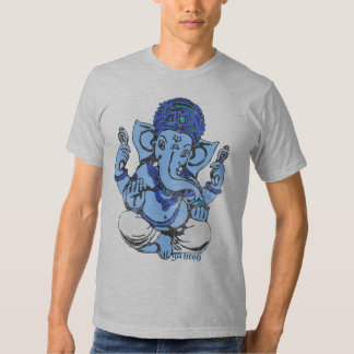 ganesh bleu t-shirt