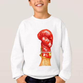 Gant de boxe rouge sweatshirt