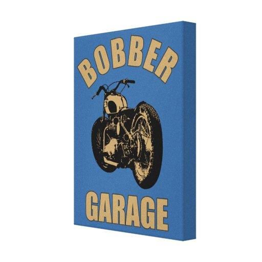 Garage de bobber impressions sur toile zazzle for Garage de toile