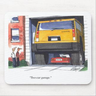 Tapis de souris garage - Garage pour deux voitures ...