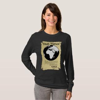 Garantie de mort de la terre signée par Donald T-shirt